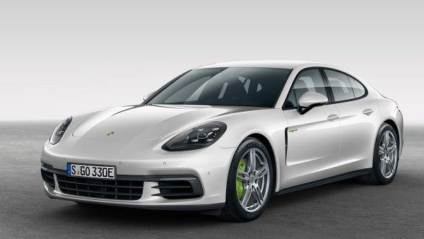 Frontal del Porsche Panamera 4 E-Hybrid