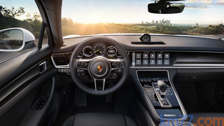 Cuadro de instrumentos del Porsche Panamera 4 E-Hybrid
