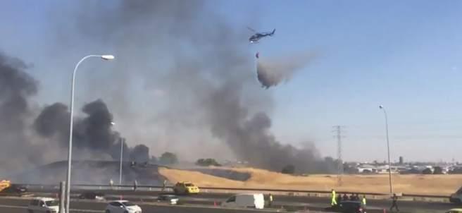Incendio en Leganés