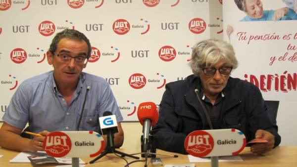 Luis Baneira y Valentín Tato, de UGT