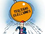 Viñeta De Málaga a Malagón. Elecciones navideñas