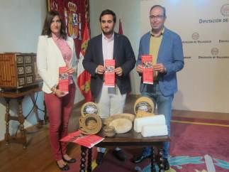 Presentación del Mercado del Queso de Villalón de Campos (Valladolid)