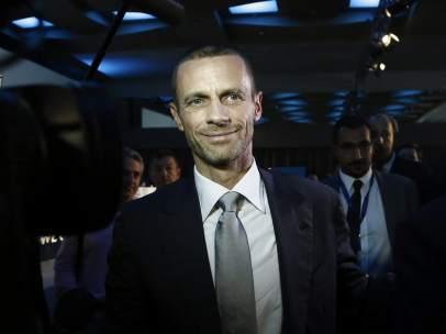 El esloveno Aleksander Ceferin, nuevo presidente de la UEFA
