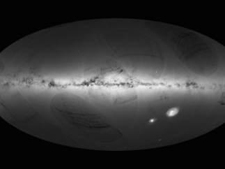 Primer mapa de la Vía Láctea