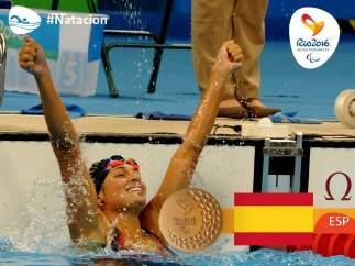 Michelle Alonso, oro para España en Río