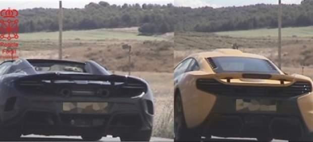Tres McLarens