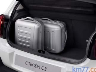 Maletero del Citroën C3
