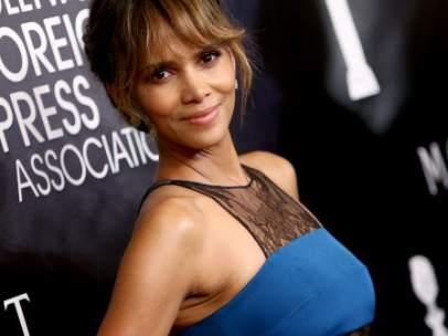 Halle Berry con flequillo 'curtain fringe'