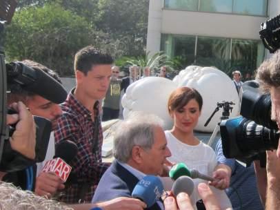 Alfonso Rus a su llegada a los juzgados