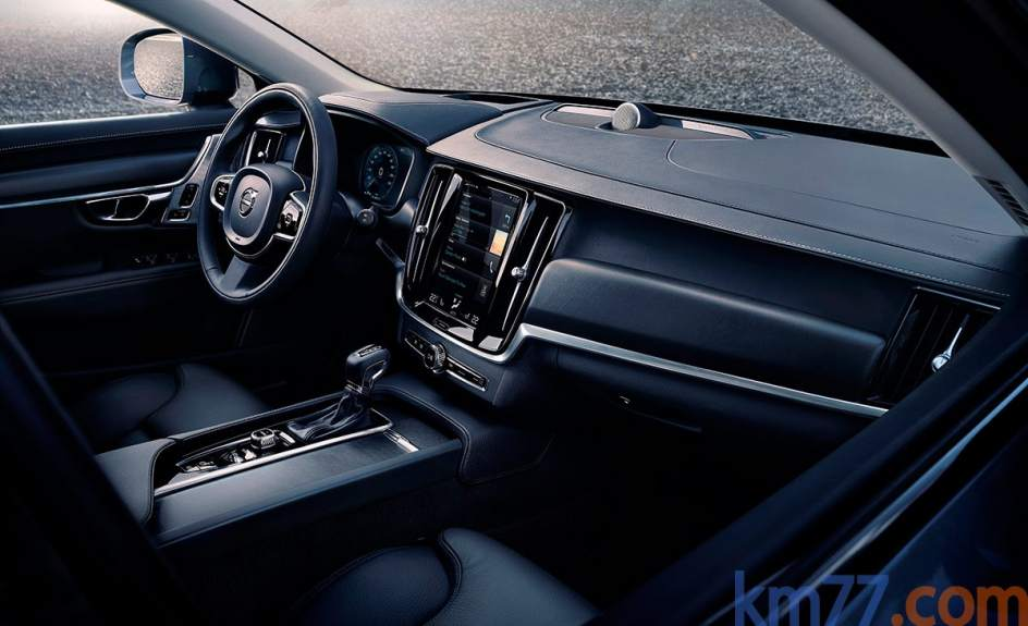 Aspecto interior del Volvo V90 Cross Country