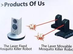 Láser contra mosquitos