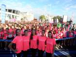 Carrera Mujer Central Lechera Asturiana A Coruña conjunto español rítmica