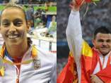 Teresa Perales y David Casinos, dos figuras de los paralímpicos en Río