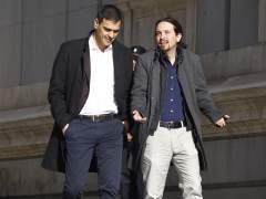 Sánchez e Iglesias piden la comparecencia de Rajoy por Gürtel