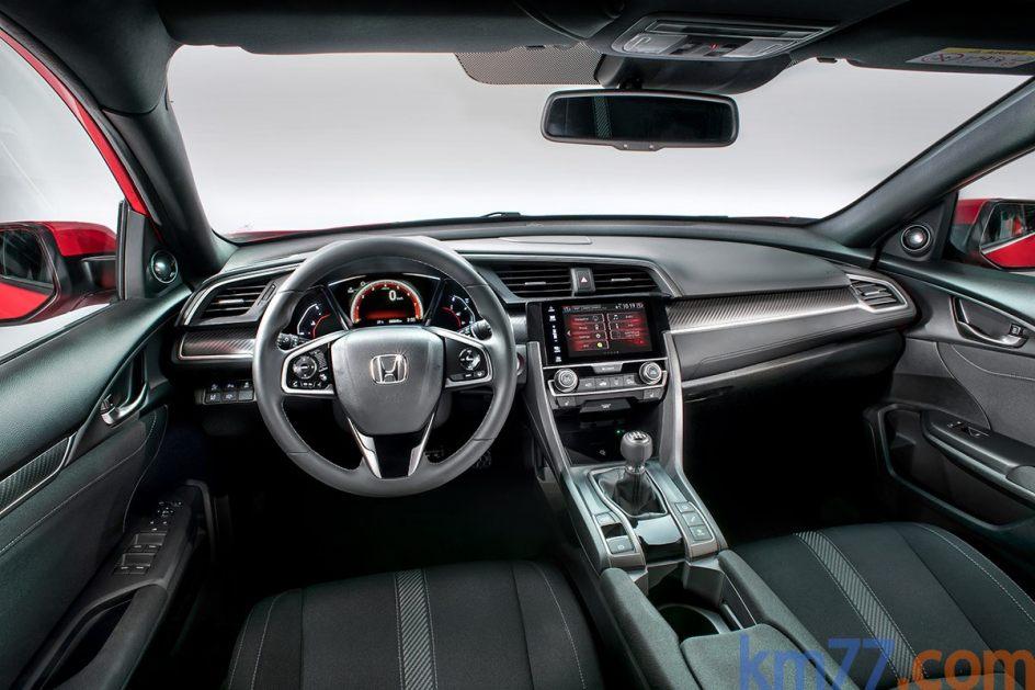 Interior del Honda Civic
