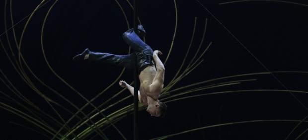 Un artista del Circo del Sol