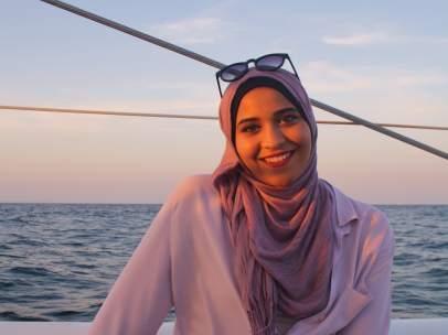 La joven Takwa Rejeb