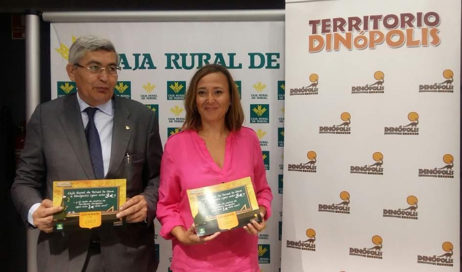 Territorio din polis y caja rural de teruel ofrecen un for Caja rural de teruel oficinas