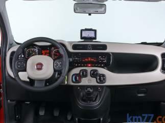Interior del Fiat Panda