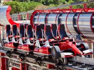 Acelerador vertical de Ferrariland