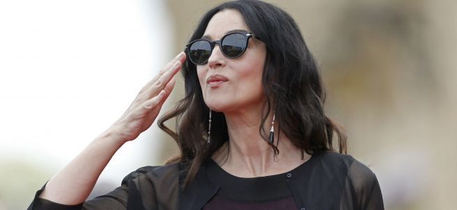 Monica Bellucci deslumbra en San Sebastián