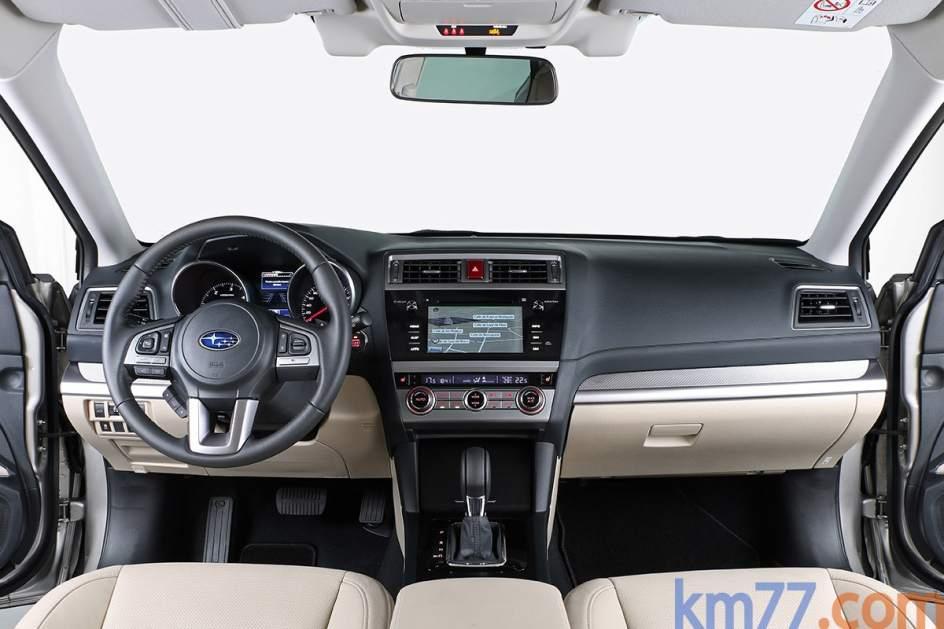 Aspecto interior del Subaru Outback