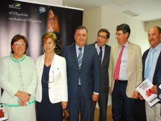 La Feria del Jamón Ibérico de Los Pedroches promociona en Madrid el sector