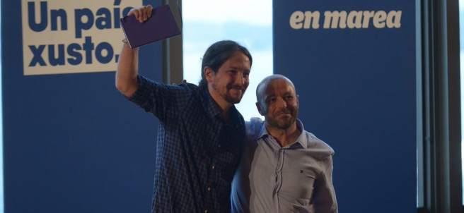 Pablo Iglesias y Luís Villares