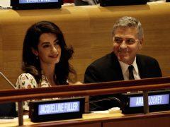 George Clooney, contra una revista por publicar fotos de sus hijos