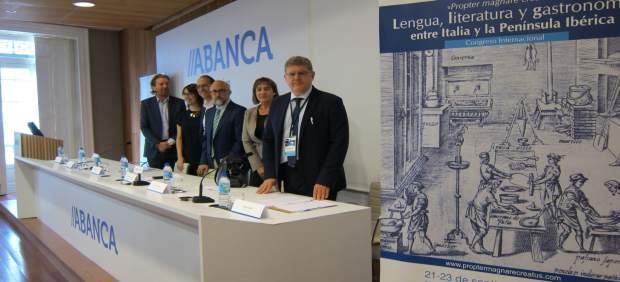 Inauguración del congreso sobre lengua, literatuta y gastronomía