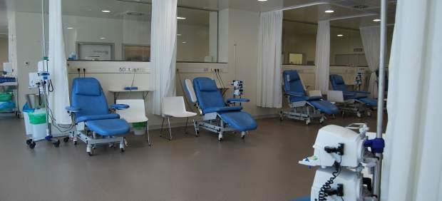 Foto del servicio de oncología del HAC