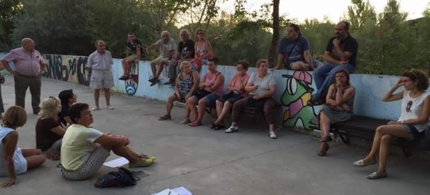 Vecinos de Viana, secundan un acto de Foro AG21.