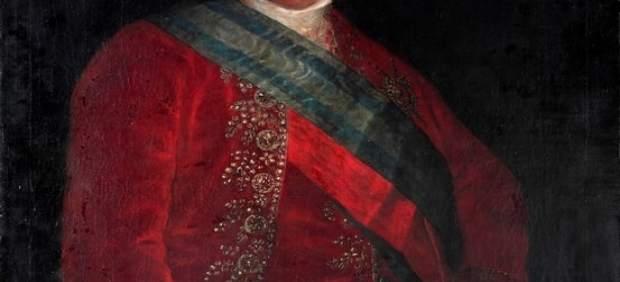 Primer retrato oficial de Carlos IV de Goya