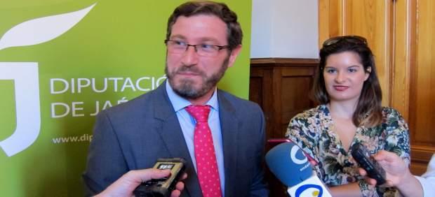 El portavoz del PP en la Diputación de Jaén, Miguel Contreras.