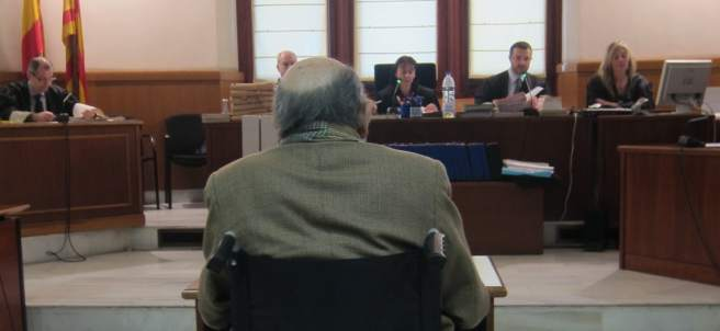 Fèlix Millet, en el juicio por el hotel junto al Palau.