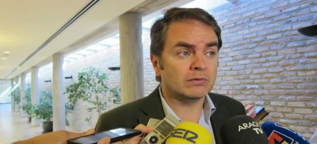 El portavoz del PP en las Cortes de Aragón, Roberto Bermúdez de Castro