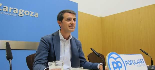 El concejal del PP, Pedro Navarro