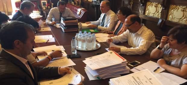 Reunión de la Junta de Gobierno celebrada este miércoles