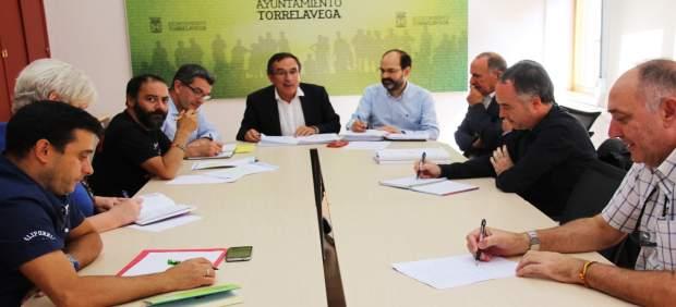 Junta de Portavoces en Torrelavega
