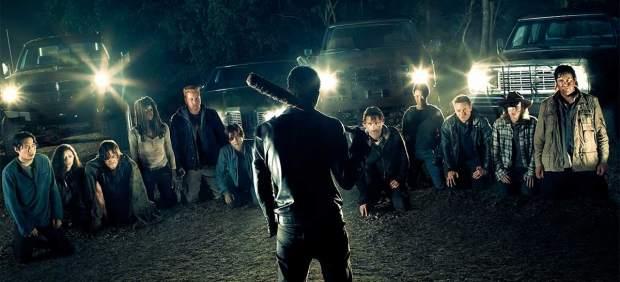 Imagen promocional de la séptima temporada de 'The Walking Dead'