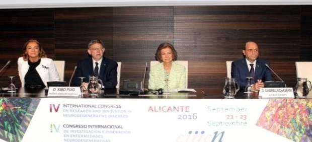 La Reina Sofia inaugura el IV Congrés Internacional de Malalties Neurodegeneratives a Alacant