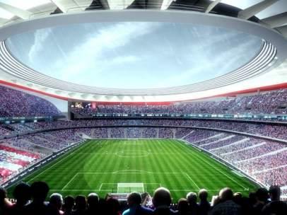 Futuro estadio de la Peineta para el Atlético Madrid