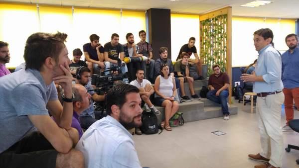 Presentación de los nuevos proyectos enj 'Link By UMA-Atech'