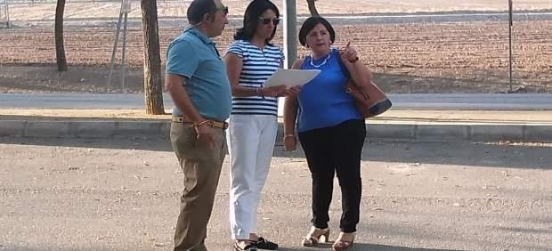 Asunción Llamas visita Herrera