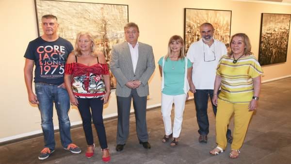 Artistas que componen la exposición pictórica sobre Saramago