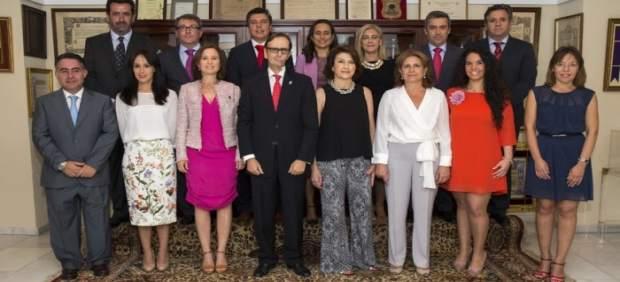 Nueva junta de gobierno de farmacéuticos de Huelva