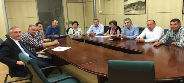 Reunión de Asaja Aragón con el consejero Olona
