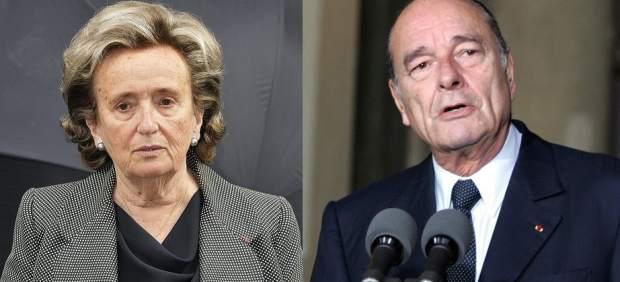 Jacques y Bernadette Chirac