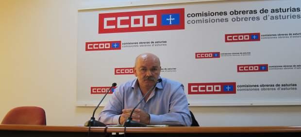 Secretario Gral del Sindicato de Enseñanza de CCOO  Asturias, Enrique Fernández