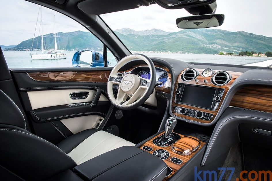 Interior del Bentley Bentayga